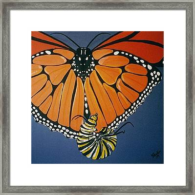 Ah To Fly Framed Print