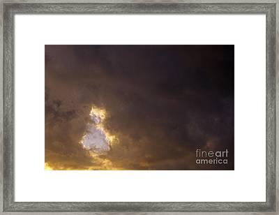 Ah00804strmclds.tif Framed Print by Jim Corwin