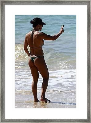 Ahhh Beauty Of Brazil 2 Framed Print