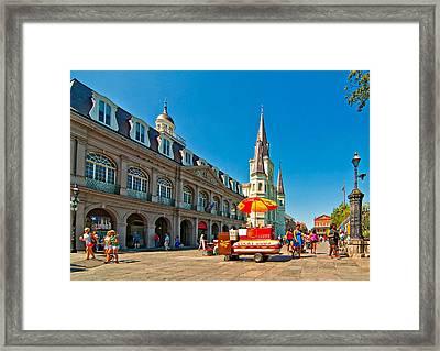 Ahh...new Orleans Framed Print by Steve Harrington