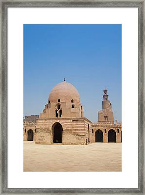 Ahmed Ibn Tulun Mosque, Cairo, Egypt Framed Print