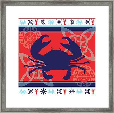 Ahoy Xi Framed Print