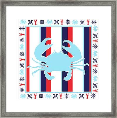 Ahoy Xv Framed Print