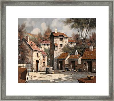 Aia Bianca Framed Print by Guido Borelli
