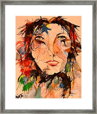 Aidree Framed Print