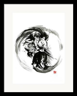Ying Framed Prints