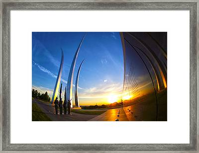 Aim High Framed Print