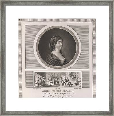 Aimee-cecile-renaud Framed Print by British Library