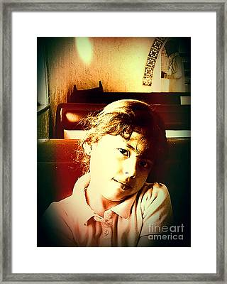 Aimee Framed Print by Jose Benavides