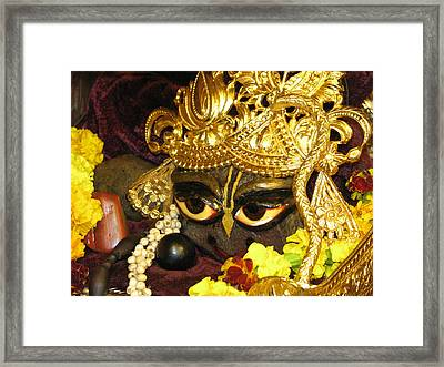 Aindra's Baba Shyamasundar Framed Print by Lila Shravani