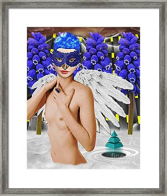 Aingeal Framed Print by Keith Dillon