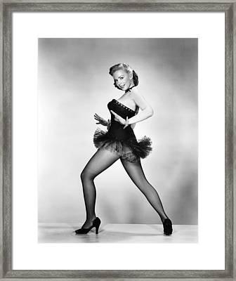 Aint Misbehavin, Piper Laurie, 1955 Framed Print