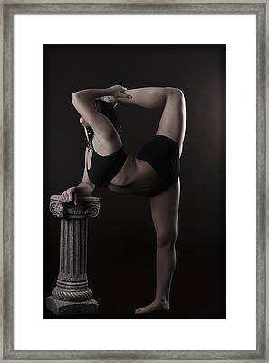 Aint That A Kick In The Head Framed Print by Monte Arnold