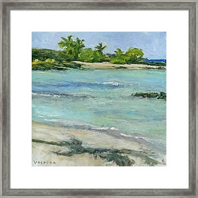 Ai'opio Beach Framed Print