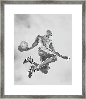 Air Ball Framed Print