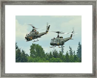 Air Cav Framed Print