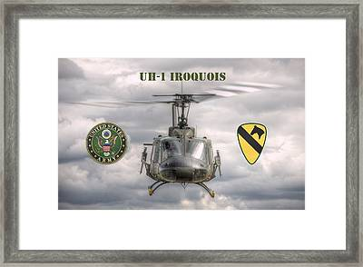Air Cavalry Framed Print