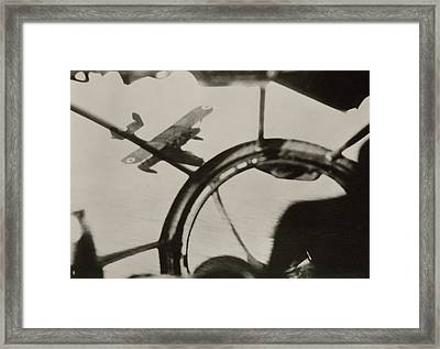 Air Combat Framed Print by Eye On The Reich: German Propaganda Photographs/new York Public Library