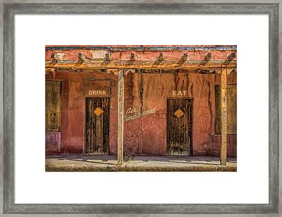 Air Conditioned Framed Print by Diana Powell