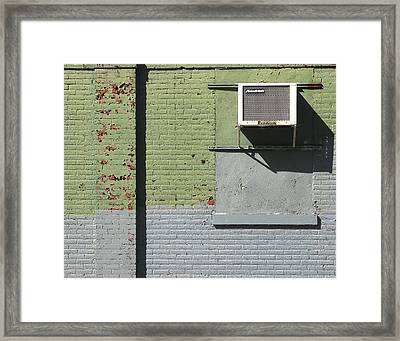 Air Conditioner Framed Print