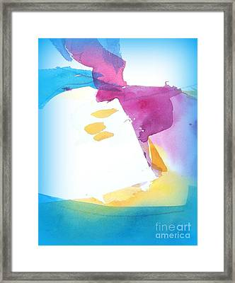 Air Current II Framed Print by Wendy Wiese