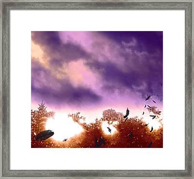 Air Element Framed Print