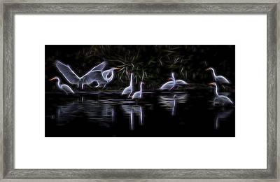 Air Elementals 3 Framed Print by William Horden