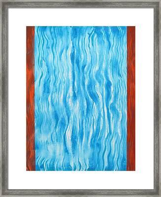 Air Flow Framed Print by Tom Hefko