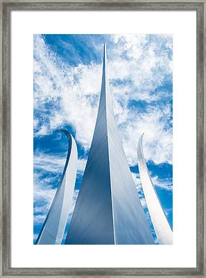 Air Force Monument Framed Print
