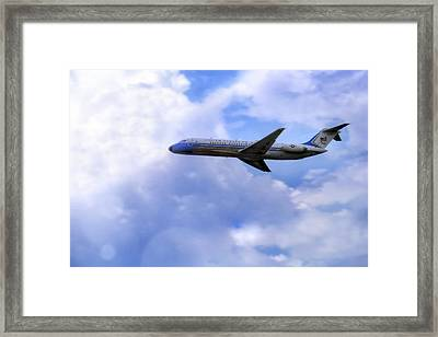 Air Force One - Mcdonnell Douglas - Dc-9 Framed Print
