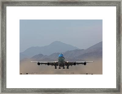 Air Force One Takeoff Framed Print by John Daly