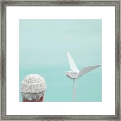 Air Force Framed Print by Sharon Kalstek-Coty