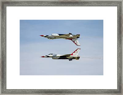 Air Force Thunderbirds Framed Print by Bill Gallagher