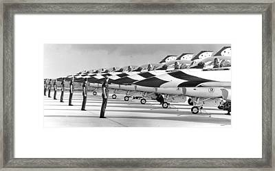 Air Forces Thunderbirds Framed Print by Retro Images Archive