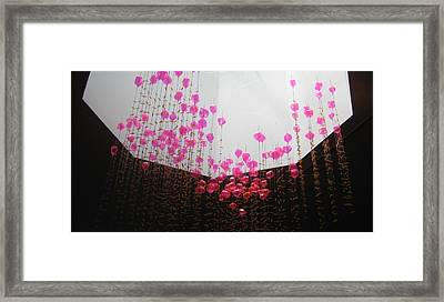 Air Jelly Framed Print