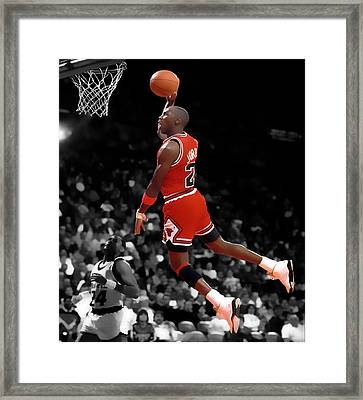 Air Jordan I Believe I Can Fly Framed Print by Brian Reaves