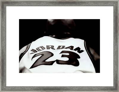 Air Jordan Six Seconds Left Framed Print