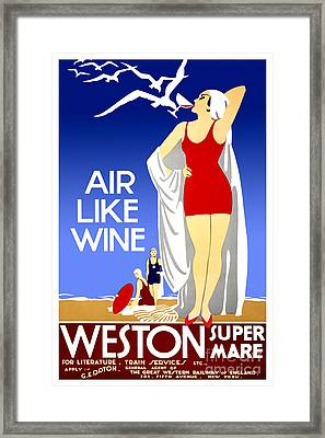 Air Like Wine Framed Print by Jon Neidert