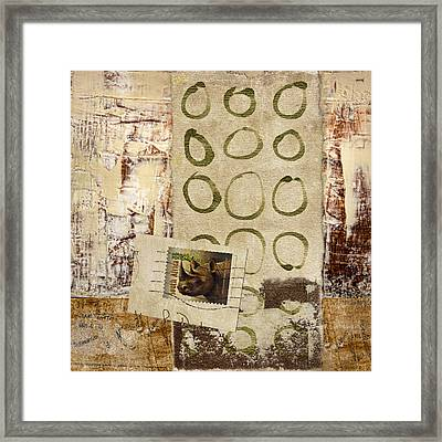Air Mail South Africa Framed Print
