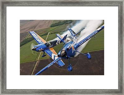 Air National Guard Aerobatics Framed Print by Adam Romanowicz