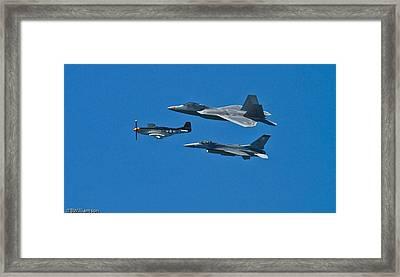 Air Power Framed Print by Brian Williamson