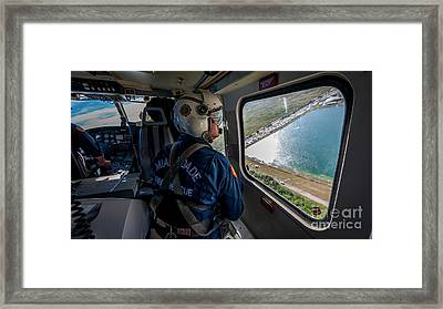 Air Rescue Medic Framed Print by Scott Mullin