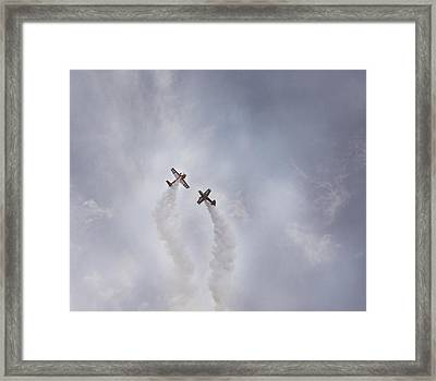 Air Show #3 Framed Print by Pat Abbott