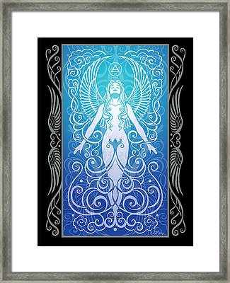 Air Spirit V.2 Framed Print by Cristina McAllister