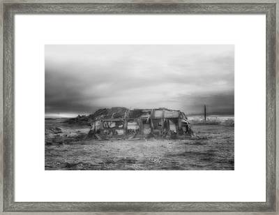 Air Stream Cannibalized Framed Print by Hugh Smith