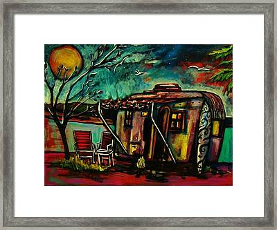 Air Stream Framed Print by Kimberly Dawn Clayton