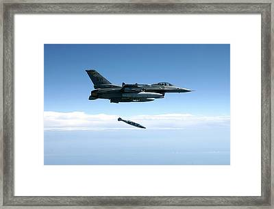 Air-to-ground Weapons System Evaluation Framed Print by 86th Fighter Weapons Squadron