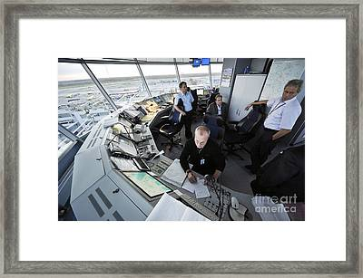 Air Traffic Control, Domodedovo Airport Framed Print