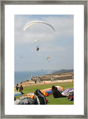 Framed Print featuring the photograph Air Traffic Control by Don Olea