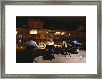 Air Traffic Controllers Framed Print